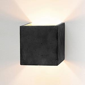 Concrete Lighting design wall lighting