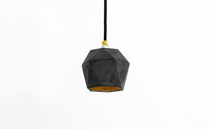 Diamond Dark Pendant Light