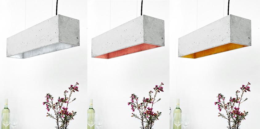 Concrete Lighting Industriel Pendant Light