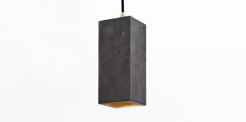 Long Dark Boxo Pendant Light